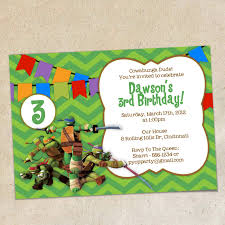 ninja turtle invitation template redwolfblog