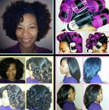 roller set relaxed hair roller set on natural hair black hair information