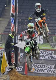 motocross bike race arenacross dirt bike race speeds into baltimore arena