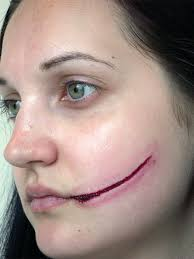 wound halloween makeup 31 days of halloween makeup u2013 day 8 cuts and various skin
