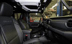 2018 jeep wrangler interior fully revealed jeep wrangler interior otomobi