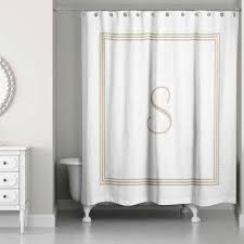 White And Black Shower Curtains Beige Shower Curtains Shower Accessories The Home Depot