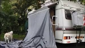 how to put up a motorhome awning youtube