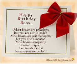 birthday wishes for boss happy birthday message for boss