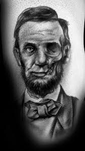 40 abraham lincoln tattoo designs for men presidential ideas