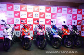 honda philippines ir news honda philippines launches all new honda beat inside racing