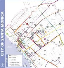 Santa Monica Zip Code Map California Map Santa Monica