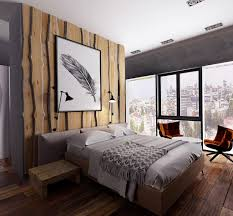 Wooden Panelling by Bedroom Brown Matresses Bedroom Rustic Wood Panelling Wooden