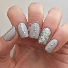easy nail art glitter 35 pretty and simple nail designs for girls on the go