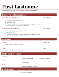resumes with color resume cv templates 411 to 416 u2013 freecvtemplate org
