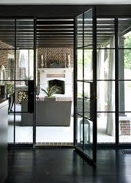 Contemporary Patio Doors Steel Framed Patio Doors Transitional Deck Patio Hammersmith
