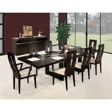 modern glass dining kitchen tables allmodern