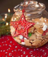 sugar cookie snack mix christmas neighbor gift or teacher gift