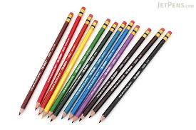 prisma color pencils prismacolor col erase colored pencil 12 color set jetpens