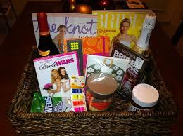 engagement gift basket wedding planning gift basket lading for