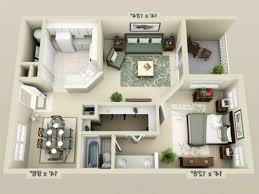 2 bedroom apartments in gainesville fl apartment 3d floor plans 3d floor plan image 2 for the 1 bedroom