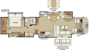 Fifth Wheel Floor Plans Front Living Room by 2018 Aspire Luxury Class A Mortorhome Entegra Coach
