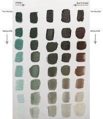 colour mixing with williamsburg viridian oil paint jackson u0027s art