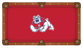 Logo Table Cloth by State Pool Table Cloth W Bulldogs Logo By Hainsworth