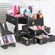 cing table with storage makeup storage display box with mirror mr sukimoako