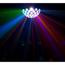 led disco ball light chauvet dj hemisphere 5 1 rotating led mirror ball effect light