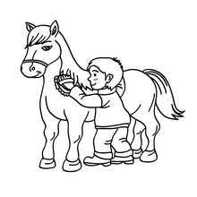 horse riding coloring pages coloring pages printable