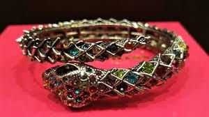 crystal snake bracelet images Butler wilson sparkling crystal coiled snake bracelet vintage jpg