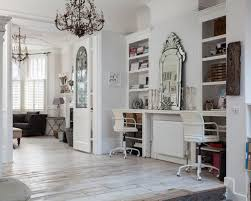 shabby chic style home office and library design ideas