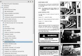 bobcat series 300 operators and maintenance manuals youfixthis