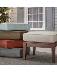 Best Fabric For Outdoor Furniture by Find The Best Deals On Yasawa Brown Wood Outdoor Ottoman Stool