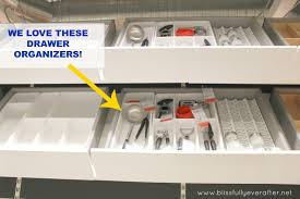 ikea kitchen drawer organizers home