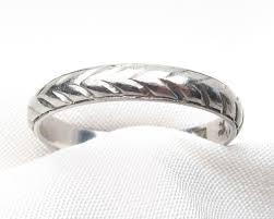 vintage platinum wedding bands isadoras antique jewelry