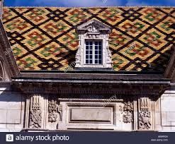 hotel de vogue dijon burgundy france stock photo royalty free