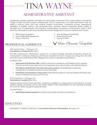 Sample Resume For Client Relationship Management by Executive Administrative Assistant Resume Resume Template For