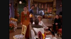 friends and ross telling stuff to their parents the one