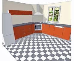 cuisson cuisine implantation évier en angle plaque cuisson en angle armoire en