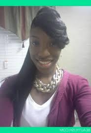 black hair swoop bang ponytail weave with bang ponytail swoop bangs simple jenesaisquoi me