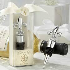 wine stopper wedding favors 2017 wine bottle stopper alloy iris wedding favors bottle wine