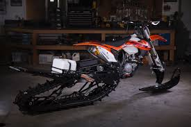 snow motocross bike ktm 450 xc timbersled snow bike u2013 david mcclures 450sxf
