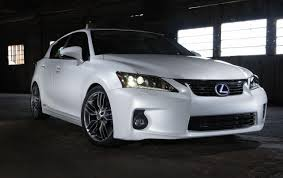 lexus ct or toyota prius higher performance more efficient lexus ct200h models coming f