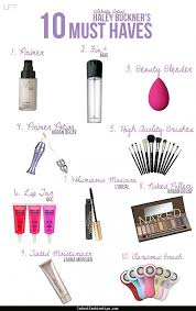 Makeup Basics 10 Must Makeup by Makeup Must Haves For Beginners Mugeek Vidalondon