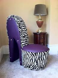 Purple Chairs For Sale Design Ideas Sit Comfortably In These High Heeled Stiletto Shoe Chairs
