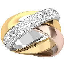 verighete cu diamant verigheta cu diamant dama aur alb galben si roz de18kt stil