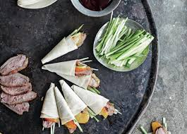 canape recipes canape recipes duck pancakes recipe
