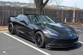 stunning black c7 corvette stingray