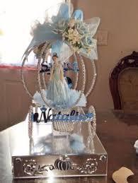 sweet 16 cinderella carriage centerpiece decorated keepsake rosa