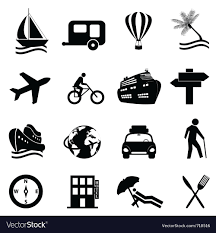 travel icons images Travel icons royalty free vector image vectorstock jpg