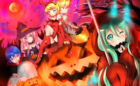 anime halloween wallpaper vocaloid halloween wallpaper bootsforcheaper com