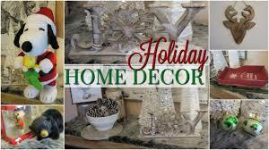 holiday home decor haul homegoods tj maxx homesense winners 2016