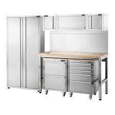 stainless steel workbench cabinets ultimate stainless steel workbench bunnings warehouse